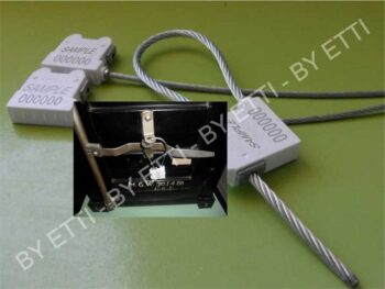 Sigilli Di Sicurezza A Cavo Superlion 5,00 Mm  Conf 250 Pz