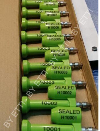 Sigilli A Chiodo Per Container Iso 17712 460 Pezzi Per Euro 149,00 Trasporto Compreso