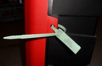 Sigilli In Plastica Regolabili AQUARIUS 30cm Conf. 1000 Pz