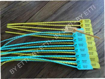 LEONARDO SHORT Sigillo In Plastica A Strozzo Conf Da 5000 Pz