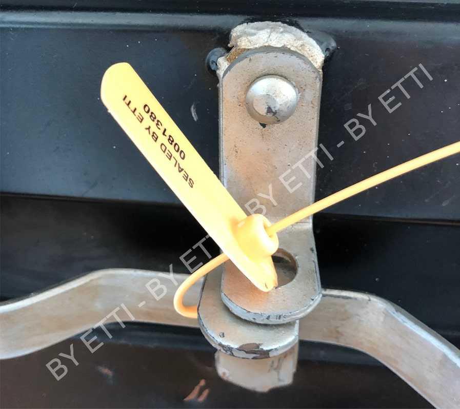 CANALETTO LONG  Sigilli Di Garanzia In Plastica Con Inserto Metallico