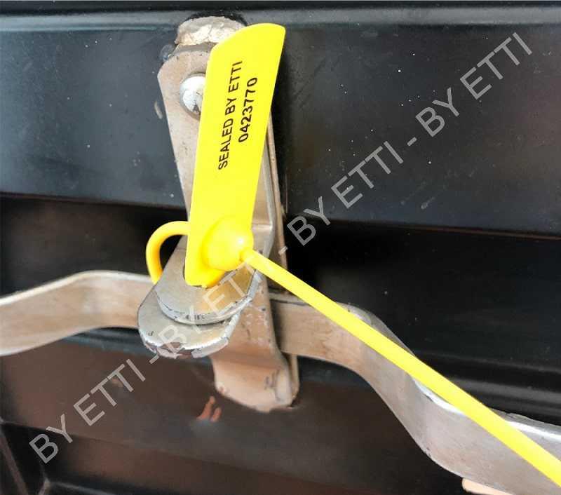 Sigilli In Plastica A Serraggio Progressivo GIOTTO SHORT